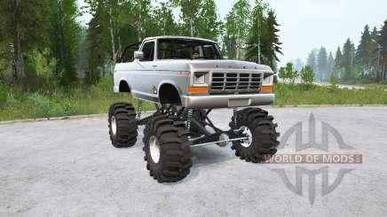 Ford Bronco Ranger XLT 1978〡 para MudRunner