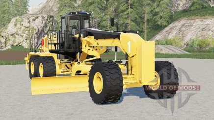 Caterpillar 18M3 para Farming Simulator 2017
