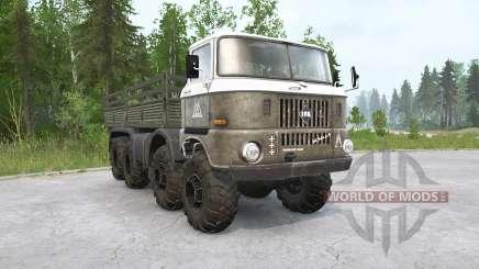 IFA W50 LA 8x8 para MudRunner