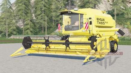 New Holland TX65 plus para Farming Simulator 2017