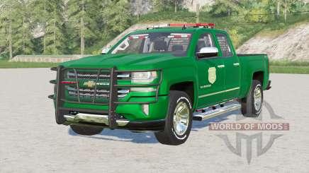 Chevrolet Silverado 1500 Doble Cabina (GMTK2) 2016〡Iowa DNR para Farming Simulator 2017
