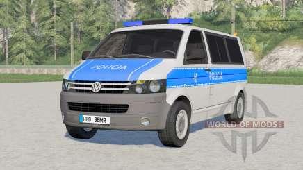 Volkswagen Transporter Kombi (T5) 2009〡Emergency para Farming Simulator 2017