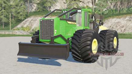 John Deere 948L-II〡 configuraciones nudómeros de las ruedas para Farming Simulator 2017