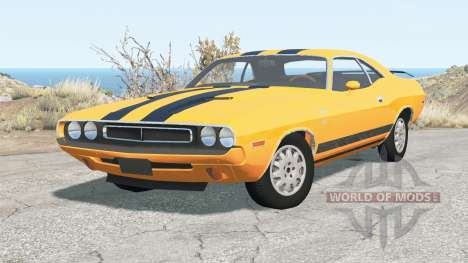 Dodge Challenger RT 440 Six Pack (JS-23) 1970 para BeamNG Drive