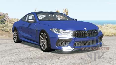 BMW M8 Competition coupe (F92) 2019 v2.0 para BeamNG Drive