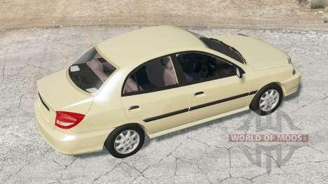 Kia Rio sedan (DC) 2003 para BeamNG Drive