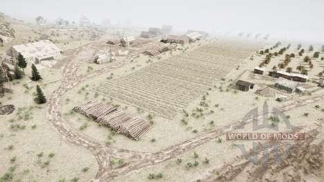 Tierras de cultivo en la taiga para Spintires MudRunner