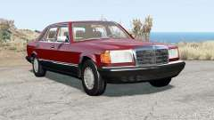 Mercedes-Benz 560 SEL (W126) 1985 para BeamNG Drive