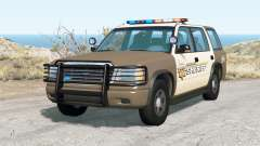Gavril Roamer Nalgones County Sheriff v2.0 para BeamNG Drive