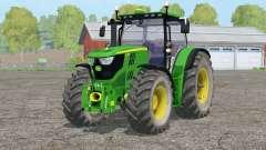 John Deere 6170R〡aanimado hidráulico para Farming Simulator 2015