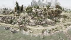 Pueblo y cañón chinos para MudRunner