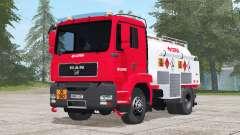 MAN TGM Fuel Truck para Farming Simulator 2017