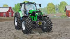 Animación Deutz-Fahr 7250 TTV Agrotron〡frontlift para Farming Simulator 2015