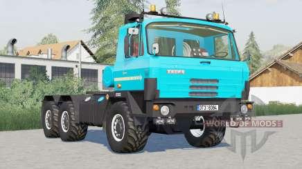 Tatra T815 6x6 tractor〡para elegir entre 3 colores para Farming Simulator 2017