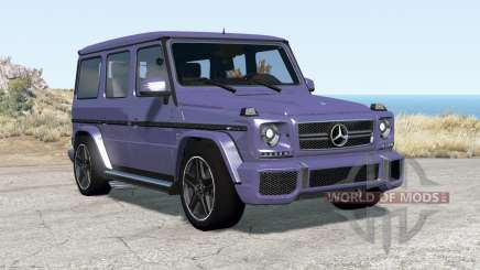 Mercedes-Benz G 65 AMG (W463) 2015 para BeamNG Drive