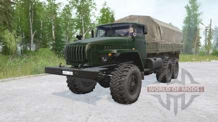 Motor Ural 4320〡s del JAMS 236NE2 para MudRunner
