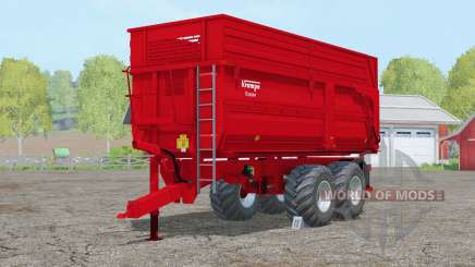 Krampe Big Body 650 S〡 eje aletérible para Farming Simulator 2015