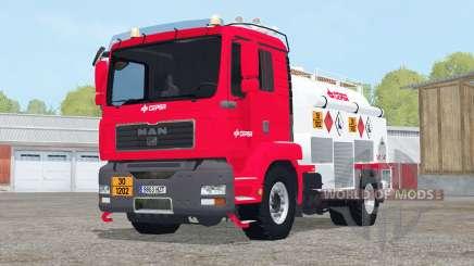 MAN TGM Fuel Truck para Farming Simulator 2015