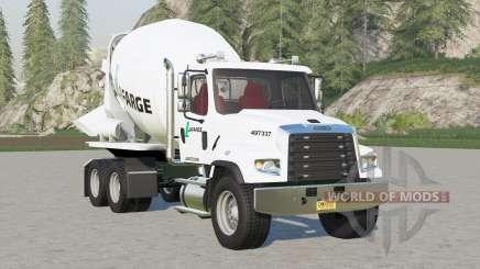 Freightliner 114SD Concrete Mixer Truck para Farming Simulator 2017