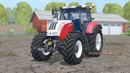 Steyr 6160 CVT〡 control interactivo para Farming Simulator 2015