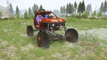 Jbeil Hilux Crawler para MudRunner