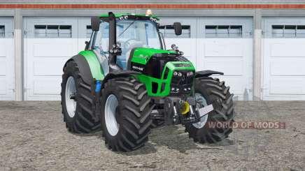Deutz-Fahr 7250 TTV Agrotron〡nueva piel y ruedas para Farming Simulator 2015