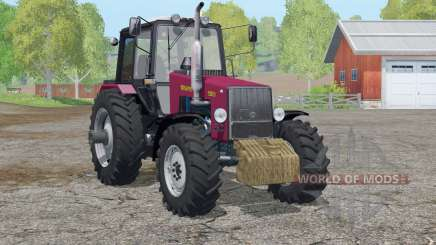 MTH 1221B Bielorrusia〡inprit contrapeso para Farming Simulator 2015