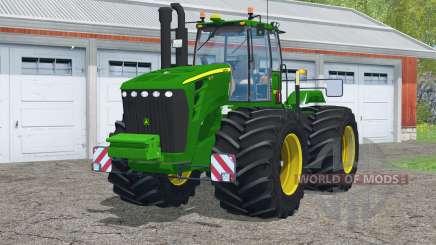 John Deere 9630〡con neumáticos de tierra para Farming Simulator 2015