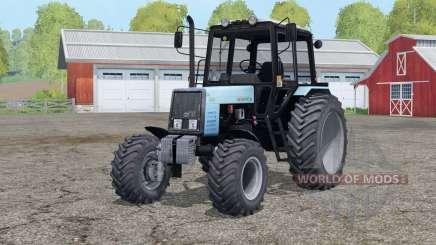 MTH 1025 Bielorrusia〡 rastros y polvo de las ruedas para Farming Simulator 2015