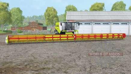 Claas Lexion 780 TT〡header 36 metros para Farming Simulator 2015