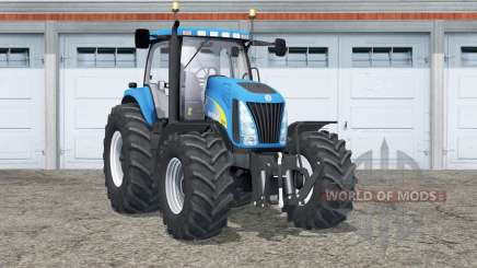 Nueva Holanda TG285〡 pesos en ruedas para Farming Simulator 2015