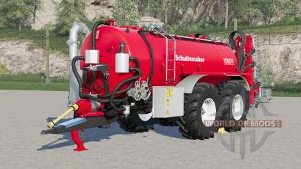 Schuitemaker Robusta 225〡re sistema de presión para Farming Simulator 2017