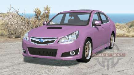 Subaru Legacy B4 (BM) 2010 para BeamNG Drive