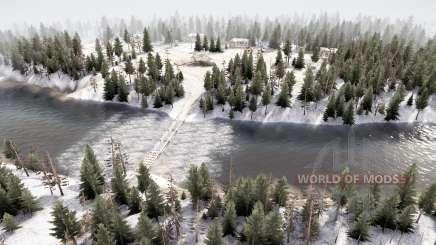 Distrito Forestal 5 v3.5 para MudRunner