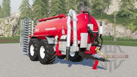 Schuitemaker Robusta 225〡acopl esparcidor trasero para Farming Simulator 2017