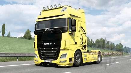 DAF XF Super Space Cab〡Berat Afsin v1.1 para Euro Truck Simulator 2