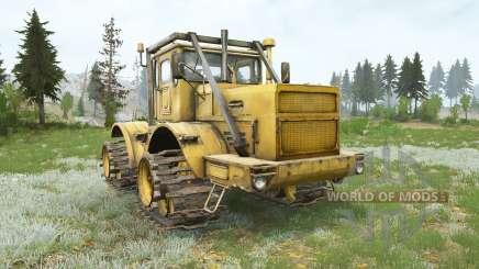 Kirovets K-700A en curso para MudRunner