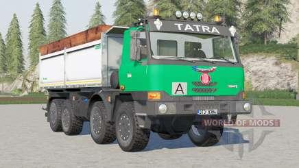 Tatra T815 TerrNo1 8x8 Tipper 2003 para Farming Simulator 2017