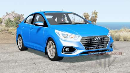 Hyundai Solaris (HCR) 2017 para BeamNG Drive