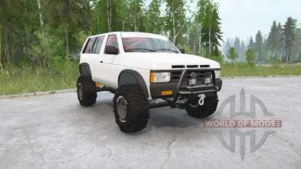 Nissan Pathfinder 4 puertas (WD21) 1990〡off-road para MudRunner