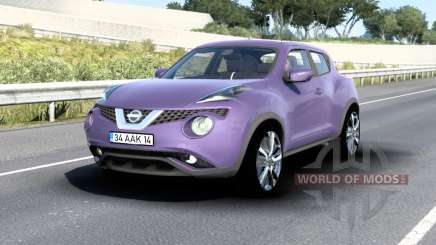 Nissan Juke (YF15) 2015 v1.5 para American Truck Simulator