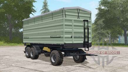 Casella three-axle trailer para Farming Simulator 2017