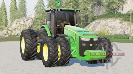 Versión john deere serie 8R〡BR para Farming Simulator 2017