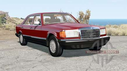Mercedes-Benz 560 SEL (W126) 1985 para BeamNG Drive