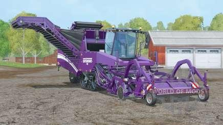 Grimme Tectron 415〡 velocidad de trabajo 20 km-h para Farming Simulator 2015