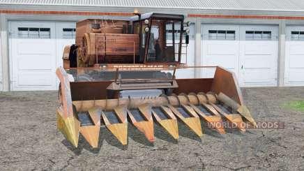 Don 1500A〡a puerta y escalera para Farming Simulator 2015