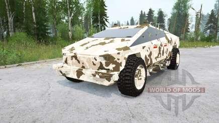 Tesla Cybertruck para MudRunner