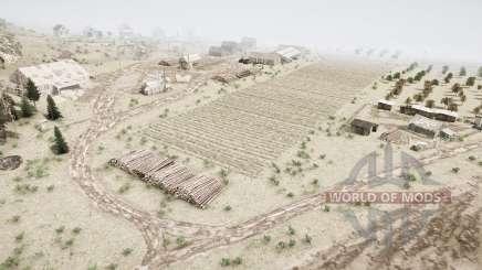Tierras de cultivo en la taiga para MudRunner