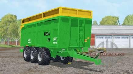 ZDT Mega 25〡capacity 38000 litros para Farming Simulator 2015