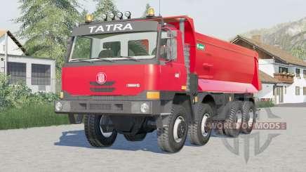 Tatra T815 TerrNo1 8x8 Dump Truck 2003 para Farming Simulator 2017